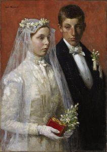 Gari Melchers   Marriage