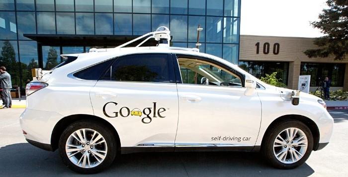 carro autonomo google lexus