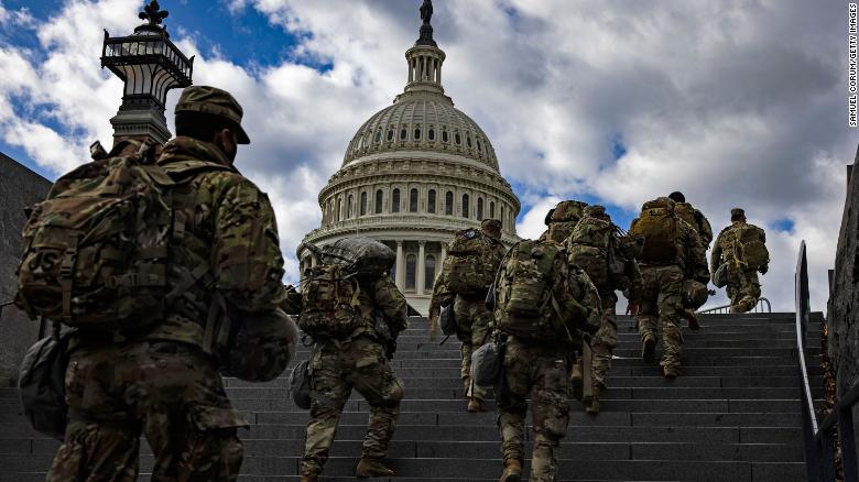 12 soldados afastados da segurança à tomada de posse de Joe Biden