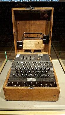 220px Muzeum 2 Wojny Swiatowej Gdansk Enigma cipher machine