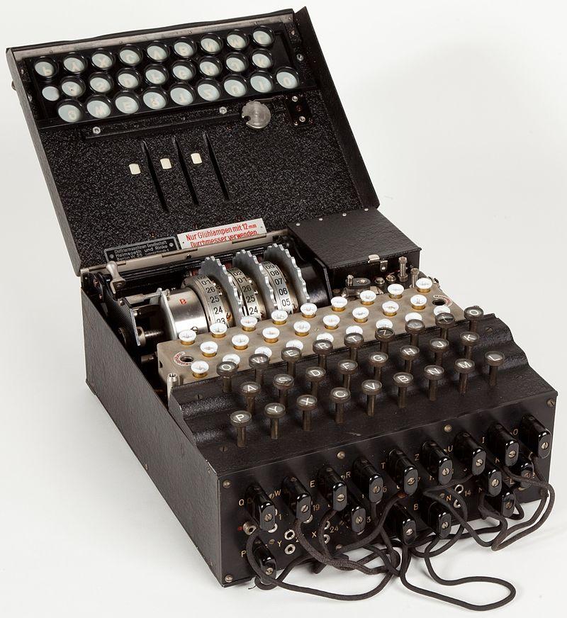 Enigma crittografia Museo scienza e tecnologia Milano