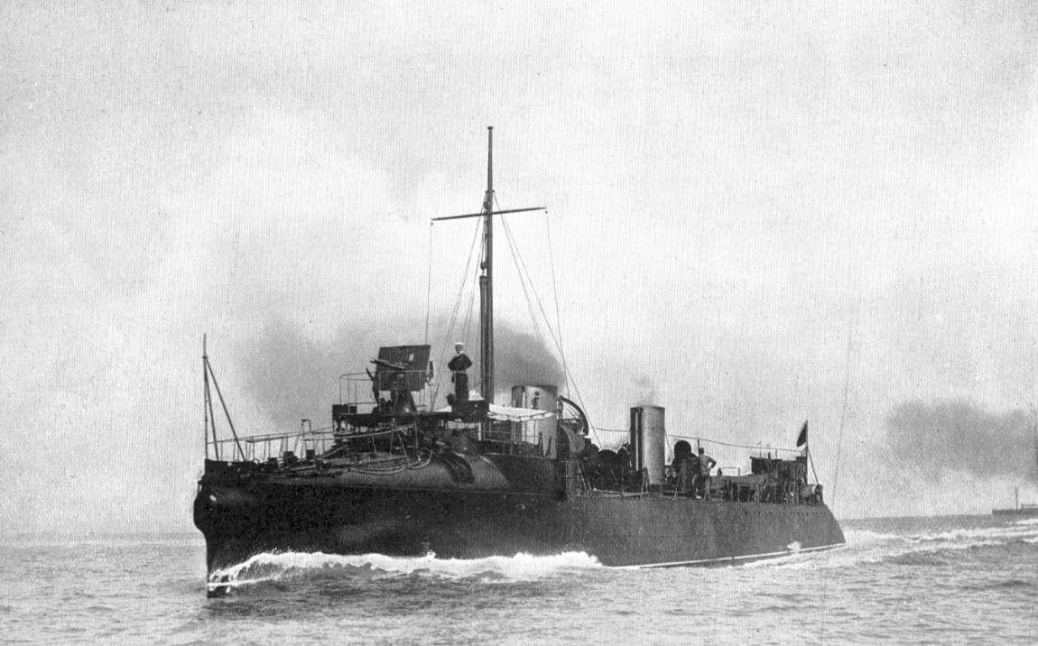 HMS DARING 1893