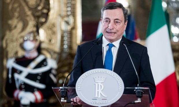 Mario Draghi aceita mandato para formar novo governo italiano