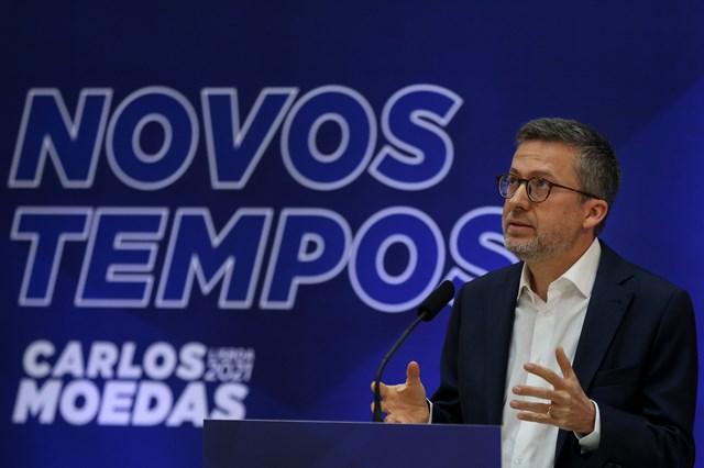 """CARLOS MOEDAS APRESENTA CANDIDATURA A LISBOA: """"É TEMPO DE UMA GRANDE RECONSTRUÇÃO"""""""