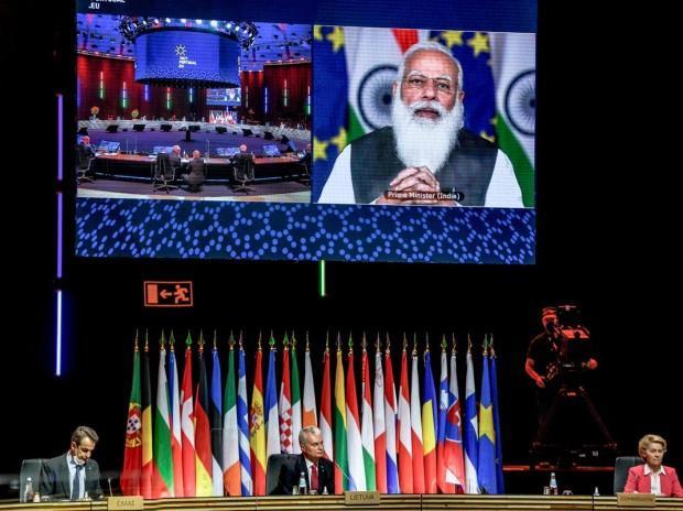 Índia lança parceria de conectividade com a União Europeia