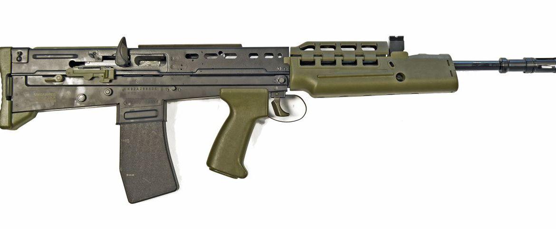 Heckler & Koch desenvolve espingarda de assalto SA-80 de menor calibre para treino