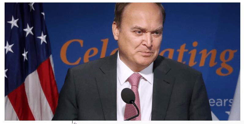 O embaixador russo retorna aos EUA para construir laços 'iguais e pragmáticos'