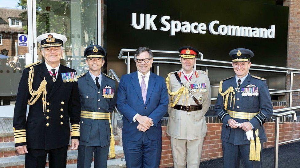 Comando Espacial do Reino Unido