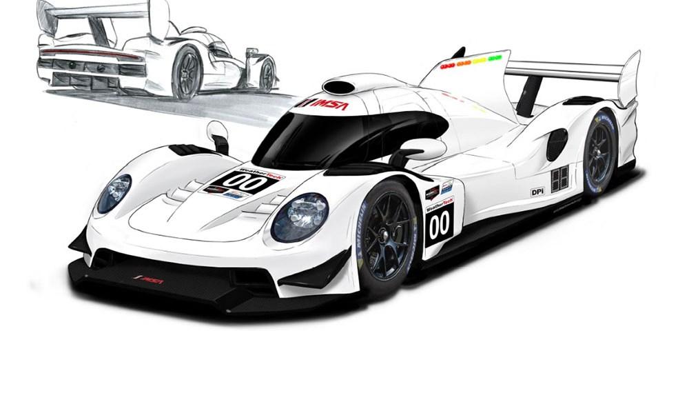 LMDh (Le Mans Daytona h)
