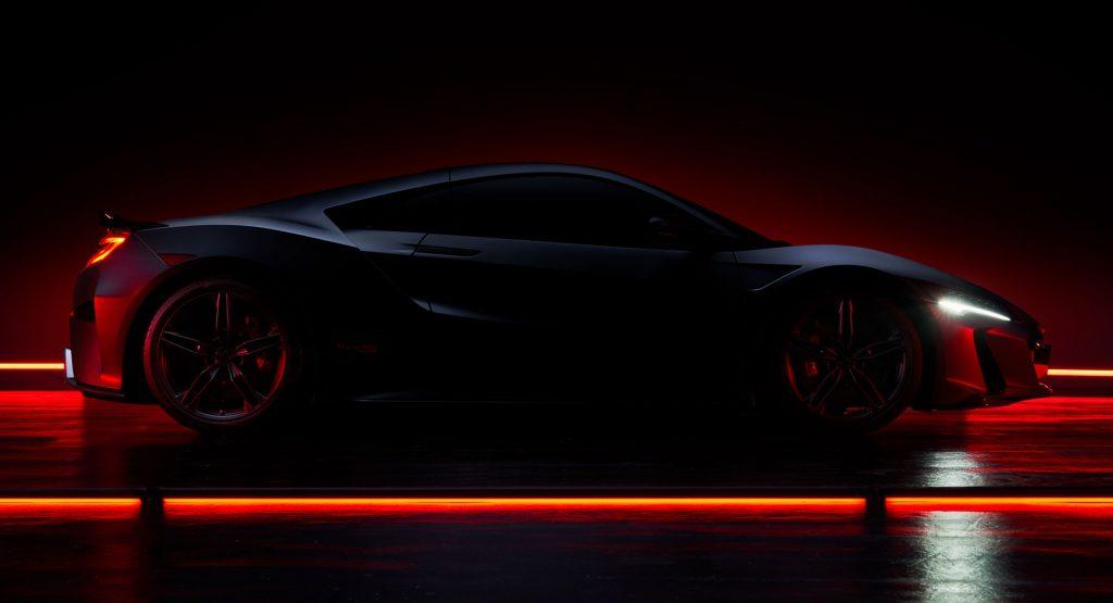 O 2022 Acura NSX Type S é real, mas temos más notícias