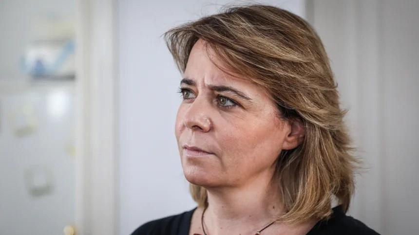 Catarina Martins em campanha na Amadora faz duras cíticas a Suzana Garcia