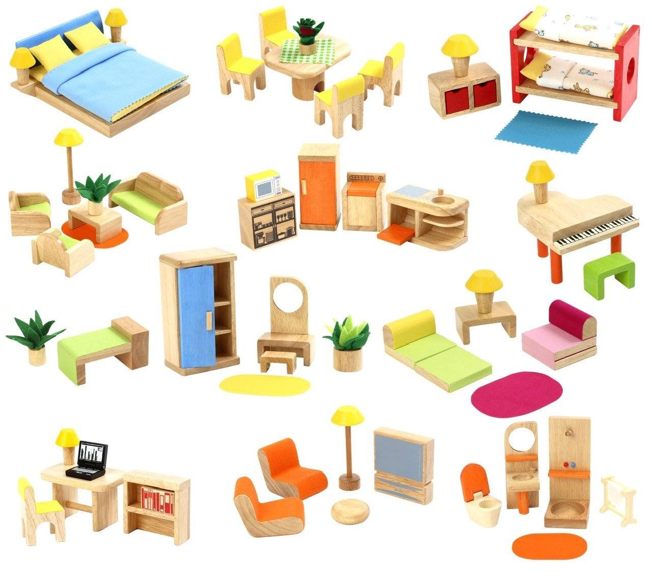 Rooms In The House And Furniture Activities
