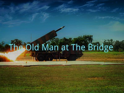 Old Man at The Bridge Questions Answers 1
