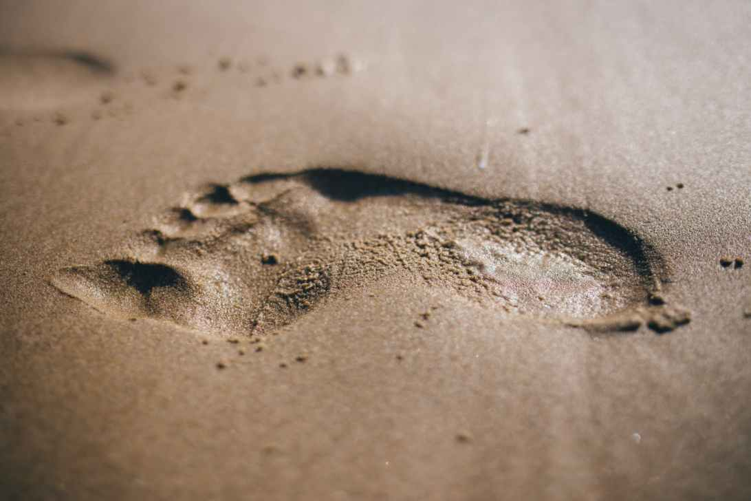 Footprints without feet