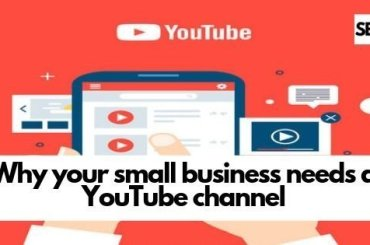YouTube channel for your business - smart entrepeneur blog - vector hand playing Youtube video