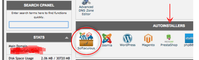 install wordpress using softaculous - smart entrepreneur blog