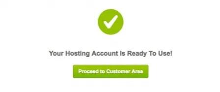 Account ready to use - siteground wordpress installation wizard - smart entrepreneur blog