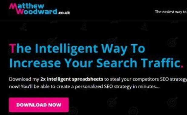 Matthew woodward - home page- Landing page funnel technique - list building ideas to grow list fast - smart entrepreneur blog