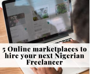Online marketplace for freelancers in Nigeria
