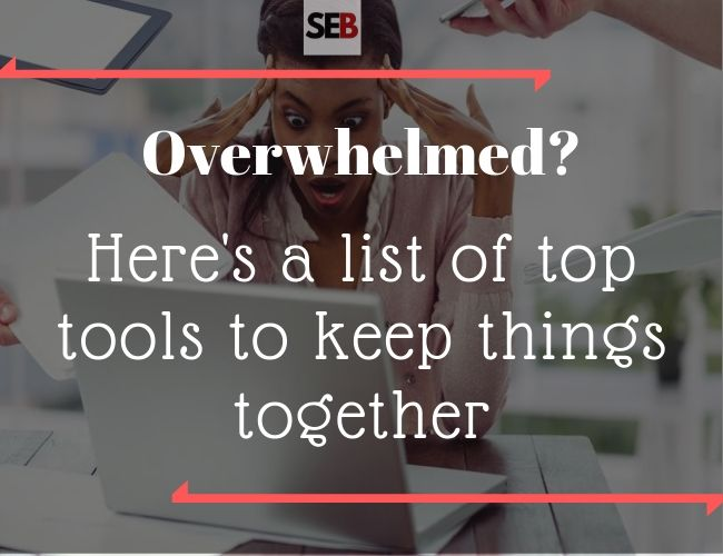 Tools for The Overwhelmed Marketing Manager - smart entrepreneur blog