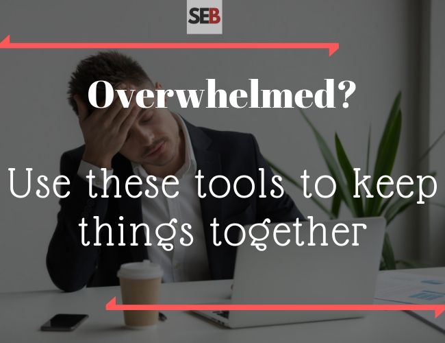Tools for an Overwhelmed Marketing Manager - productivity hacks -smart entrepreneur blog