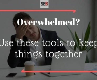 Tools for an Overwhelmed Marketing Manager - productivity hacks -smart entrepreneur blog