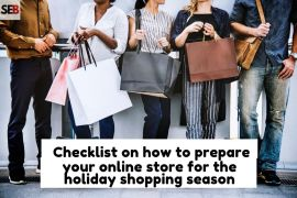 young millennials with shopping bags - how to prepare your online store for the holiday season