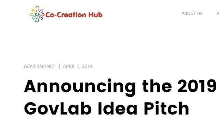 CcHub GovLab idea Pitch - available grants for entrepreneurs Nigeria
