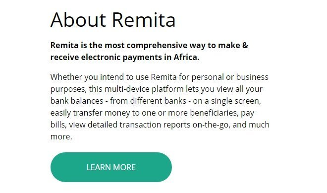 Remita - a mobile payment option from Nigeria