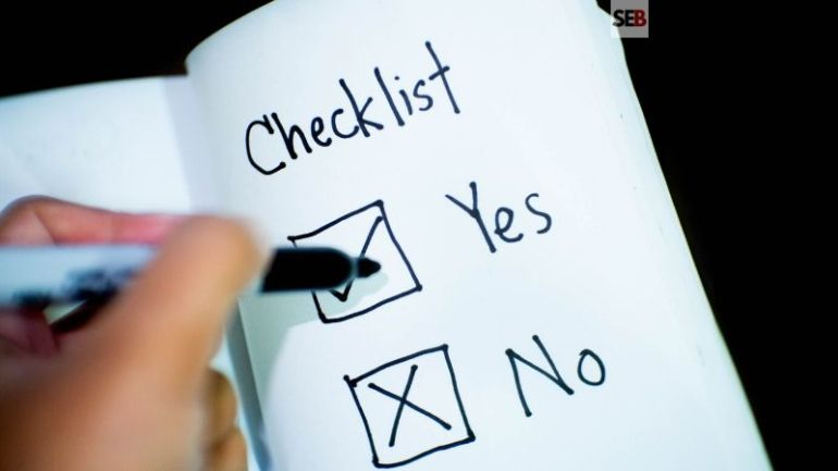 Event Planning Checklist - small business event organizing list