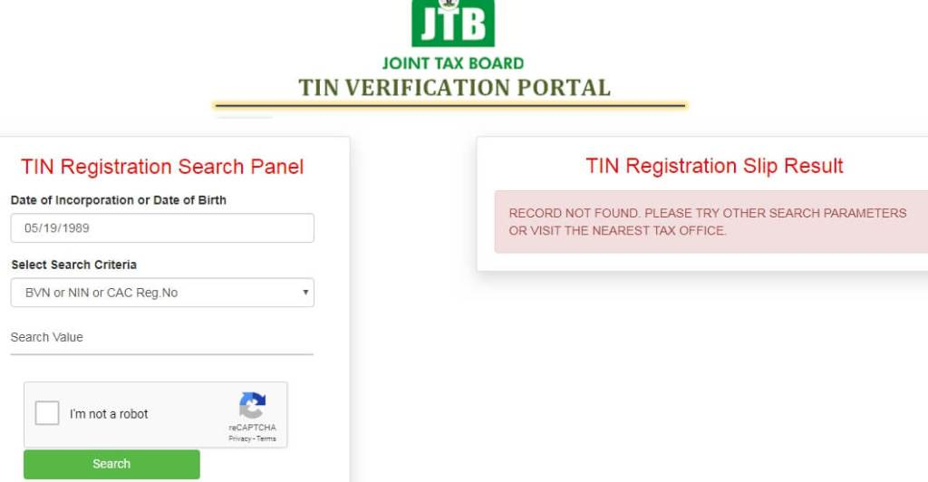 A detailed guide to get your tax identification number - Tin verification portal