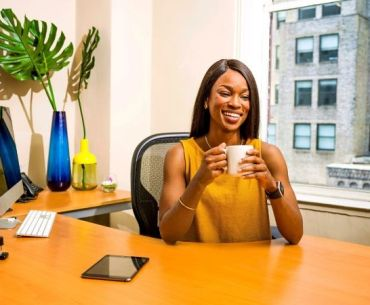Remote work in Nigeria - a female professional