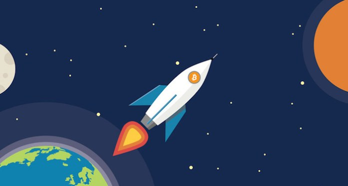 Image result for to the moon cryptocurrency