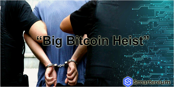 """""""Big Bitcoin Heist"""" suspect who escaped has been arrested in Amsterdam"""