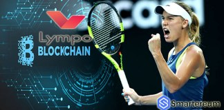 Tennis Star Caroline Wozniacki becomes the first female athlete to endorse a blockchain startup