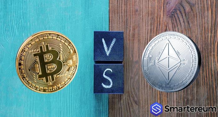 bitcoin versus ethereum