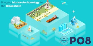po8 blockchain marine archeology