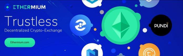 Ethermium decentralized exchange