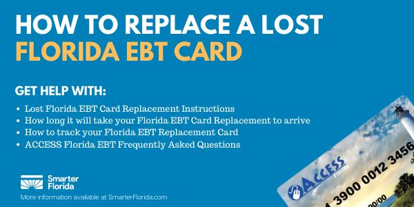 Lost Florida EBT Card