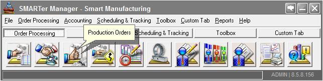 Production Order Management Software
