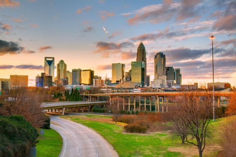 13 North Carolina Charlotte CE83C5