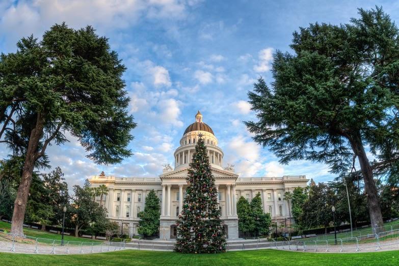 07 California Sacramento state capitol F5F97B