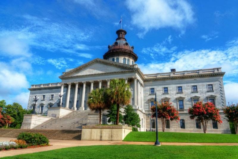 10 South Carolina capitol CT9FJ9