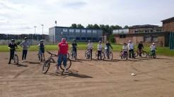 Triathlon cycle prep