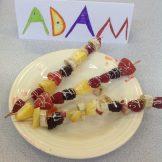 Adam fruit kebab