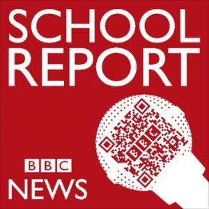 School Report Logo QR code
