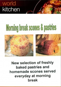 Scones and pastries