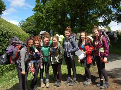 Bronze D of E Hikers