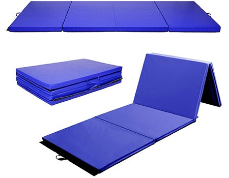 Giantex 4'x8'x2 Gymnastics Mat | Top 10 Best Padded Workout Mats For Home Exercise