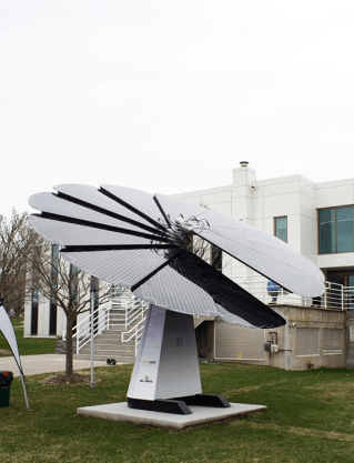 Smartflower and East Gwillimbury Ontario